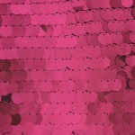 Big Dot Sequin Mesh Fabric Fuchsia