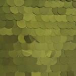 Big Dot Sequin Mesh Fabric Matte Olive