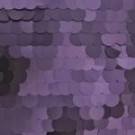 Big Dot Sequin Mesh Fabric Matte Purple