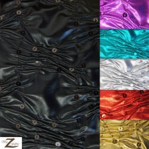 Crunchy Foil Sequin Poly Spandex Fabric