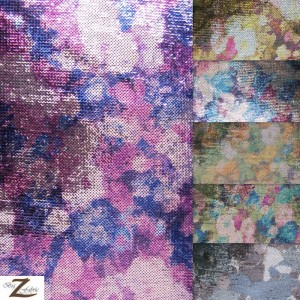 Clouded Sequins Spandex Fabric