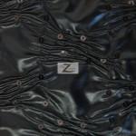 Crunchy Foil Sequins Poly Spandex Fabric Black