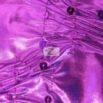 Crunchy Foil Sequins Poly Spandex Fabric Magenta