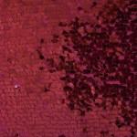 Drop Sequins Fabric Burgundy