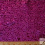 Drop Sequins Fabric Fuchsia