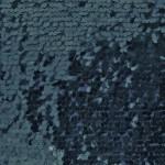 Drop Sequins Fabric Navy Blue