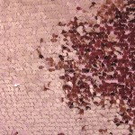 Drop Sequins Fabric Pink