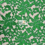 St. Patrick's Day Fashion Sequins Fabric Green