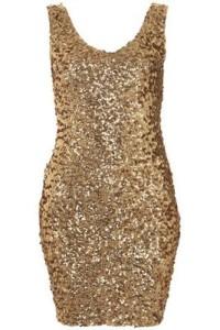 Scale Sequins Gorgeous Dress