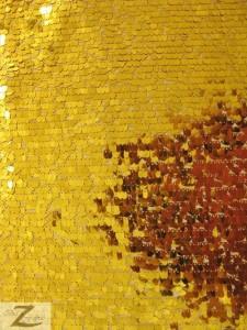 Gold Drop Sequins Fabric