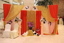Sequins Fabric Wedding Decoration