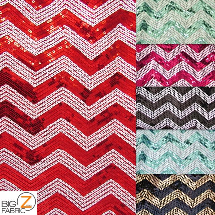 Chevron zig zag sequins mesh fabric sequins fabric for Sequin fabric