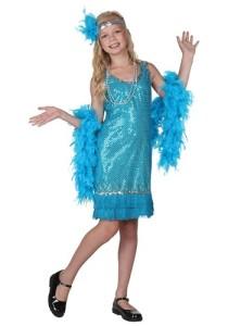 Sequins Fabric Halloween Costume