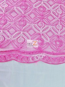 Butterfly Diamond Scalloped Sequin Fabric Edges