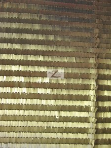 Joy Sequin Mesh Fabric Gold
