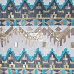 Egyptian Sequins Mesh Fabric Pharaoh