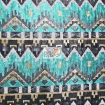 Egyptian Sequins Mesh Fabric Royalty