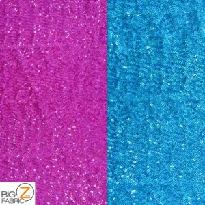 Ocean Wave Shiny Sequins Spandex Fabric