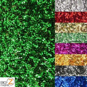 Scale Sequins Mesh Fabric