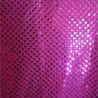 Small Confetti Dot Sequin Fabric Fuchsia
