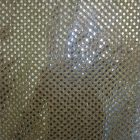 Small Confetti Dot Sequin Fabric Gold