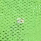 Small Confetti Dot Sequin Fabric Neon Green
