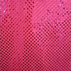 Small Confetti Dot Sequin Fabric Neon Pink