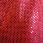Small Confetti Dot Sequin Fabric Red