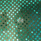 Small Confetti Dot Sequin Fabric Teal