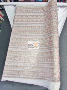 Tribal Pocahontas Sequins Multi Color Fabric Design