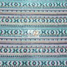 Tribal Pocahontas Sequins Multi Color Fabric Shoeshone
