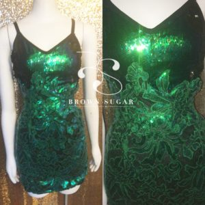 Eternity Sequins Sexy Dress