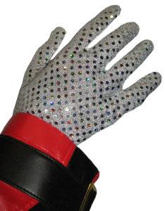 Michael Jackson Style Sequins Glove