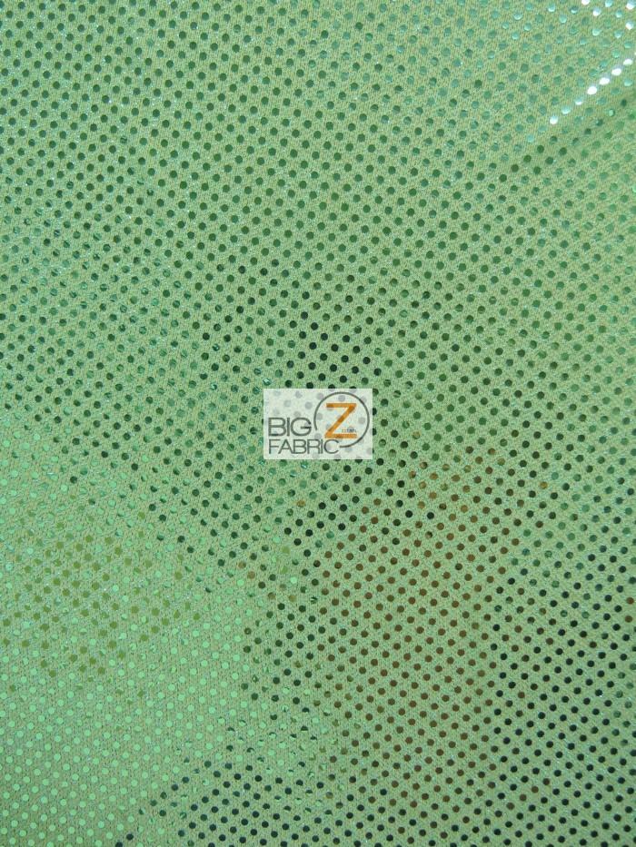 Aqua Small Confetti Dot Sequins Fabric