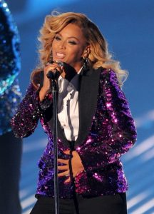 Beyonce Reversible Sequins Jacket