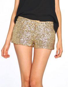 Summer Sequins Shorts