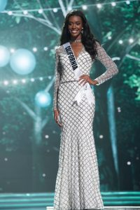 Miss California Golden Diamond Sequins Dress