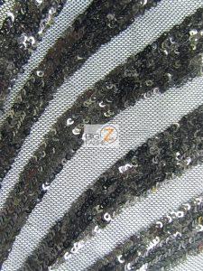 Goldeneye Diamond Sequins Fabric Black
