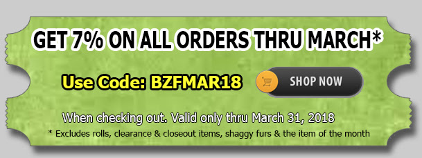 Big Z Fabric March Madness Sequins Sale!!!