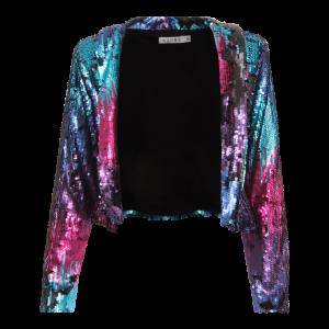 Rainbow Sequins Jacket