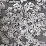 2 Tone Blossom Sequin Fabric