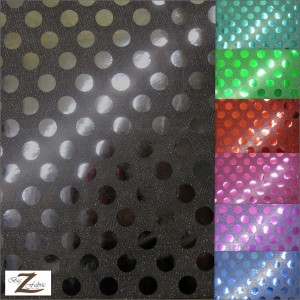 Big Polka Dot Sequin Fabric