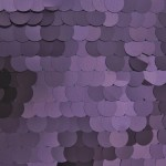 Big Dot Sequin Mesh Fabric Matte Purple