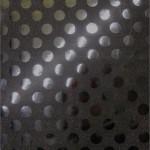 Big Polka Dot Sequins Fabric Black