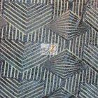 Cosmic Mini Disc Sequins Mesh Fabric Navy