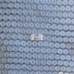 Delight Sequins Mesh Fabric White