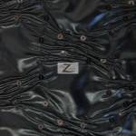 Crunchy Foil Sequins Poly Spandex Fabric Black