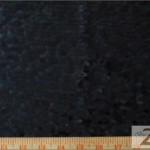 Drop Sequins Fabric Black