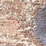 Drop Sequins Fabric Silver