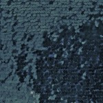 Drop Sequins Fabric Navy Blue